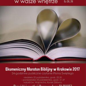 Ekumeniczny Maraton Biblijny W Krakowie 22 – 23 X 2017