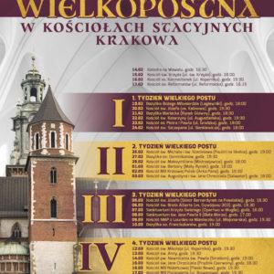 Kościoły Stacyjne Krakowa 2018