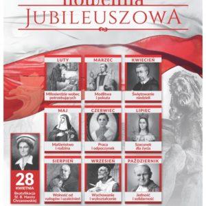 Nowenna Jubileuszowa – 11 Sierpnia 2018