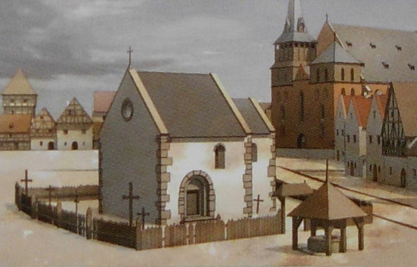 Krakow Wojciecha Rekonstrukcja Z XIVw