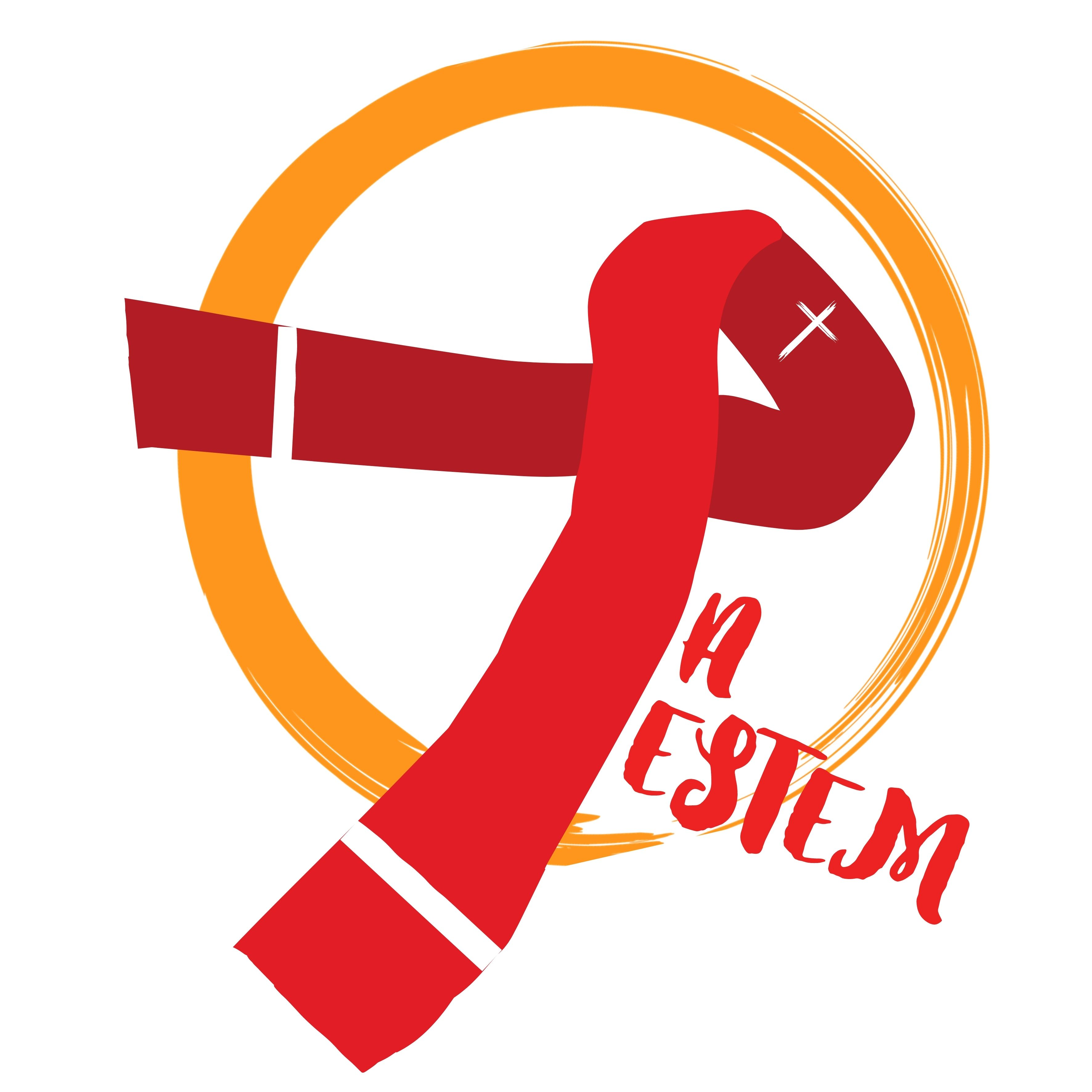 Logo JA JESTEM.beztła